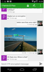 A modern and Open Source Web client for XMPP | Kaiwa